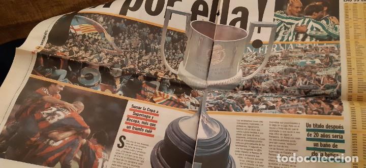 Coleccionismo deportivo: INCREÍBLE LOTE PERIÓDICO (RECORTES) Y SUPLEMENTOS FINAL COPA REY BARCELONA BETIS 28 JUNIO 1997. LEER - Foto 3 - 195055113