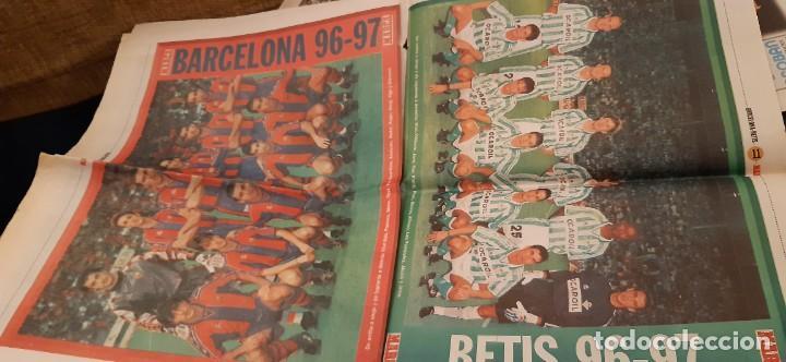Coleccionismo deportivo: INCREÍBLE LOTE PERIÓDICO (RECORTES) Y SUPLEMENTOS FINAL COPA REY BARCELONA BETIS 28 JUNIO 1997. LEER - Foto 4 - 195055113