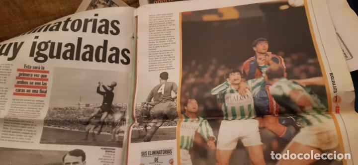 Coleccionismo deportivo: INCREÍBLE LOTE PERIÓDICO (RECORTES) Y SUPLEMENTOS FINAL COPA REY BARCELONA BETIS 28 JUNIO 1997. LEER - Foto 5 - 195055113