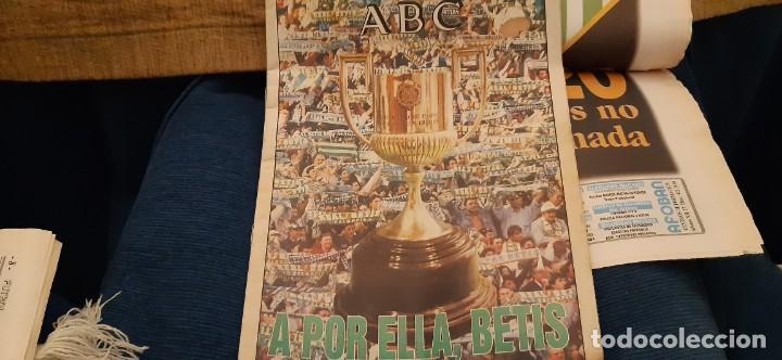 Coleccionismo deportivo: INCREÍBLE LOTE PERIÓDICO (RECORTES) Y SUPLEMENTOS FINAL COPA REY BARCELONA BETIS 28 JUNIO 1997. LEER - Foto 6 - 195055113
