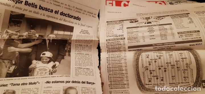 Coleccionismo deportivo: INCREÍBLE LOTE PERIÓDICO (RECORTES) Y SUPLEMENTOS FINAL COPA REY BARCELONA BETIS 28 JUNIO 1997. LEER - Foto 7 - 195055113