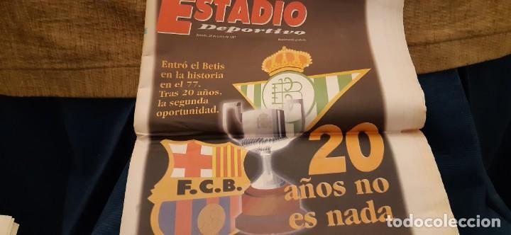Coleccionismo deportivo: INCREÍBLE LOTE PERIÓDICO (RECORTES) Y SUPLEMENTOS FINAL COPA REY BARCELONA BETIS 28 JUNIO 1997. LEER - Foto 8 - 195055113