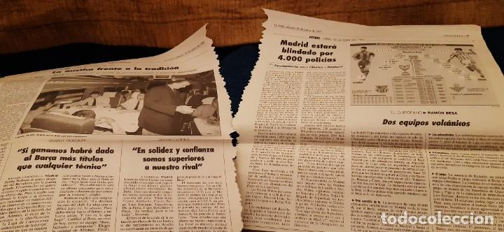Coleccionismo deportivo: INCREÍBLE LOTE PERIÓDICO (RECORTES) Y SUPLEMENTOS FINAL COPA REY BARCELONA BETIS 28 JUNIO 1997. LEER - Foto 13 - 195055113