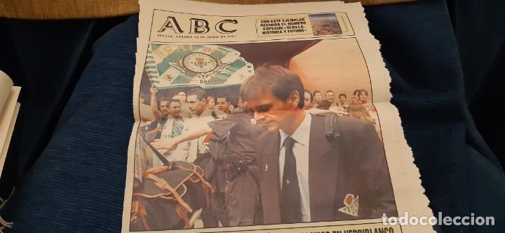 Coleccionismo deportivo: INCREÍBLE LOTE PERIÓDICO (RECORTES) Y SUPLEMENTOS FINAL COPA REY BARCELONA BETIS 28 JUNIO 1997. LEER - Foto 14 - 195055113