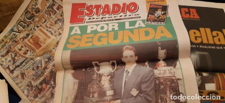 Coleccionismo deportivo: INCREÍBLE LOTE PERIÓDICO (RECORTES) Y SUPLEMENTOS FINAL COPA REY BARCELONA BETIS 28 JUNIO 1997. LEER - Foto 15 - 195055113