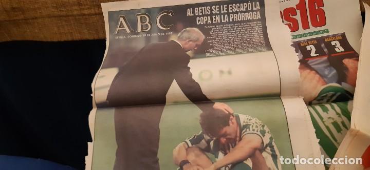 Coleccionismo deportivo: INCREÍBLE LOTE PERIÓDICO (RECORTES) FINAL COPA REY BARCELONA CAMPEÓN BETIS 29 JUNIO 1997. LEER - Foto 3 - 195055495