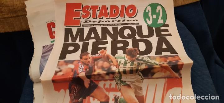 Coleccionismo deportivo: INCREÍBLE LOTE PERIÓDICO (RECORTES) FINAL COPA REY BARCELONA CAMPEÓN BETIS 29 JUNIO 1997. LEER - Foto 5 - 195055495