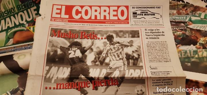 Coleccionismo deportivo: INCREÍBLE LOTE PERIÓDICO (RECORTES) FINAL COPA REY BARCELONA CAMPEÓN BETIS 29 JUNIO 1997. LEER - Foto 6 - 195055495