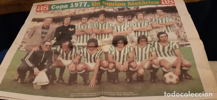 Coleccionismo deportivo: INCREÍBLE LOTE PERIÓDICO (RECORTES) Y SUPLEMENTOS FINAL COPA REY BARCELONA BETIS 28 JUNIO 1997. LEER - Foto 16 - 195055113