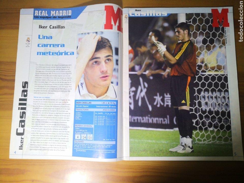 Coleccionismo deportivo: SUPLEMENTO DIARIO MARCA REAL MADRID 2003/2004 UN EQUIPO DE LEYENDA - Foto 3 - 195060017
