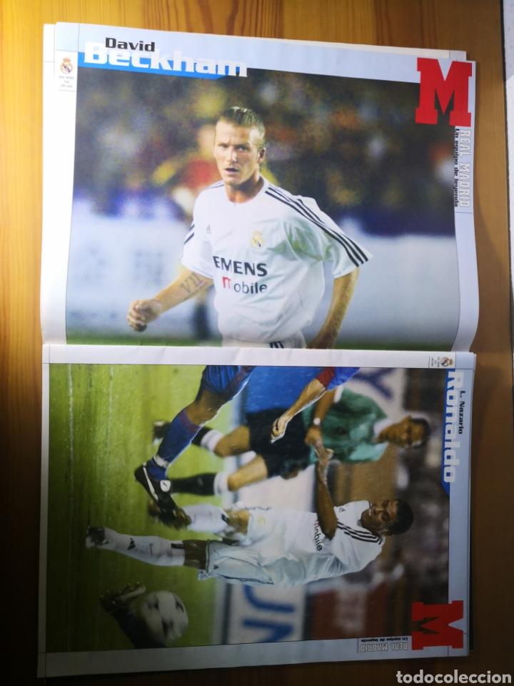 Coleccionismo deportivo: SUPLEMENTO DIARIO MARCA REAL MADRID 2003/2004 UN EQUIPO DE LEYENDA - Foto 4 - 195060017