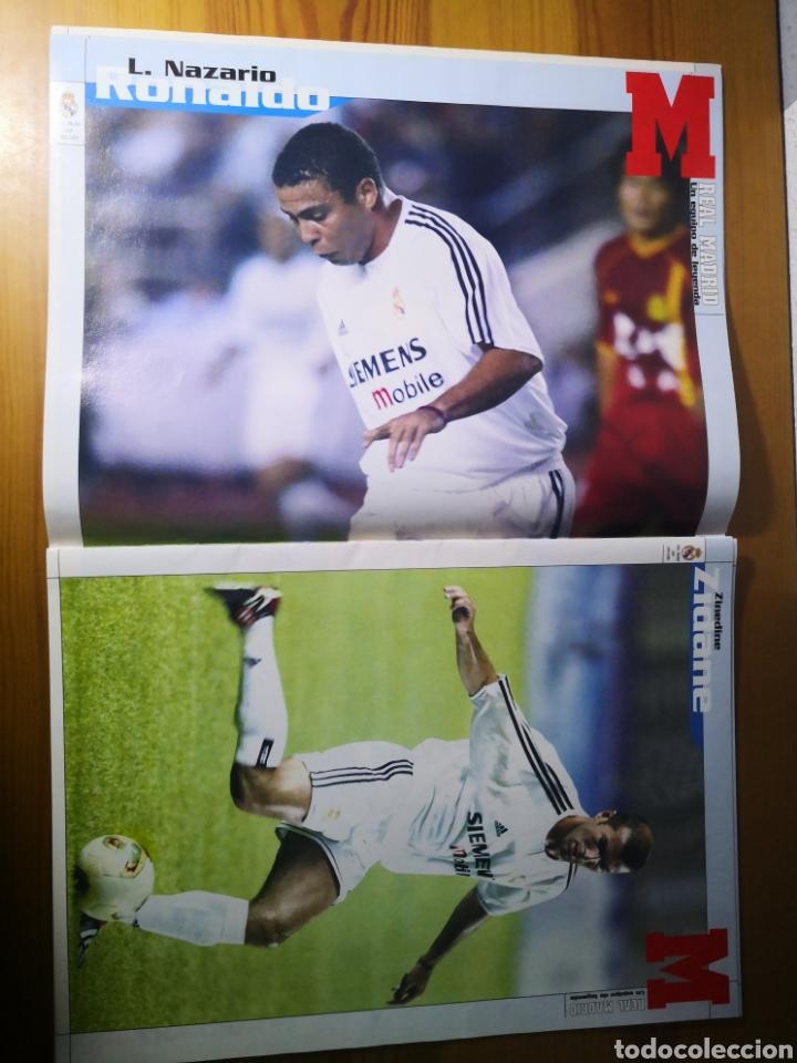 Coleccionismo deportivo: SUPLEMENTO DIARIO MARCA REAL MADRID 2003/2004 UN EQUIPO DE LEYENDA - Foto 5 - 195060017