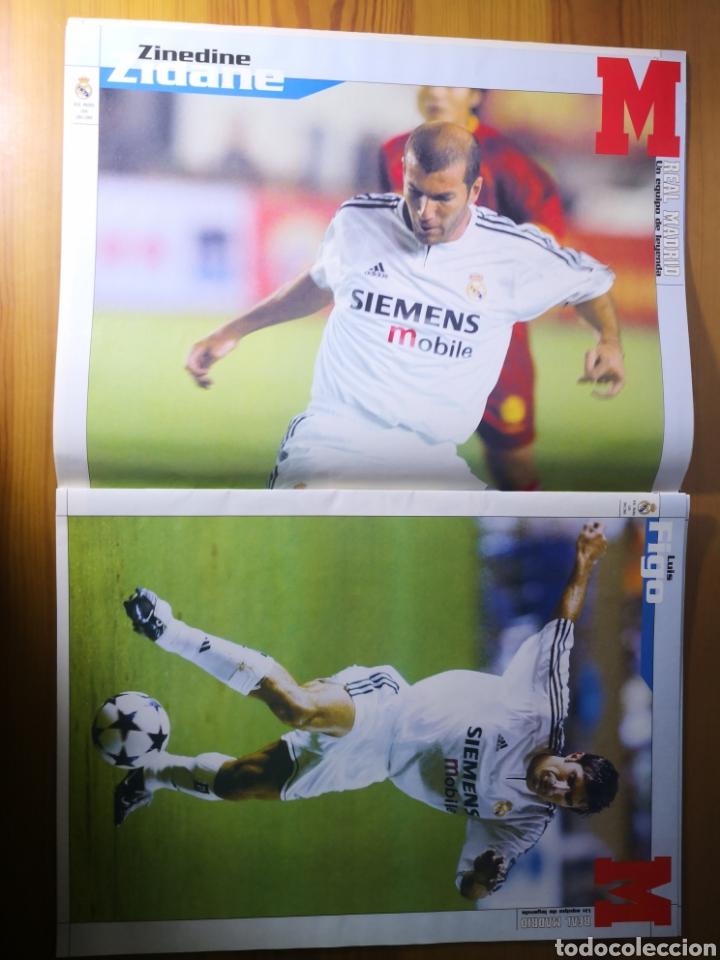 Coleccionismo deportivo: SUPLEMENTO DIARIO MARCA REAL MADRID 2003/2004 UN EQUIPO DE LEYENDA - Foto 6 - 195060017