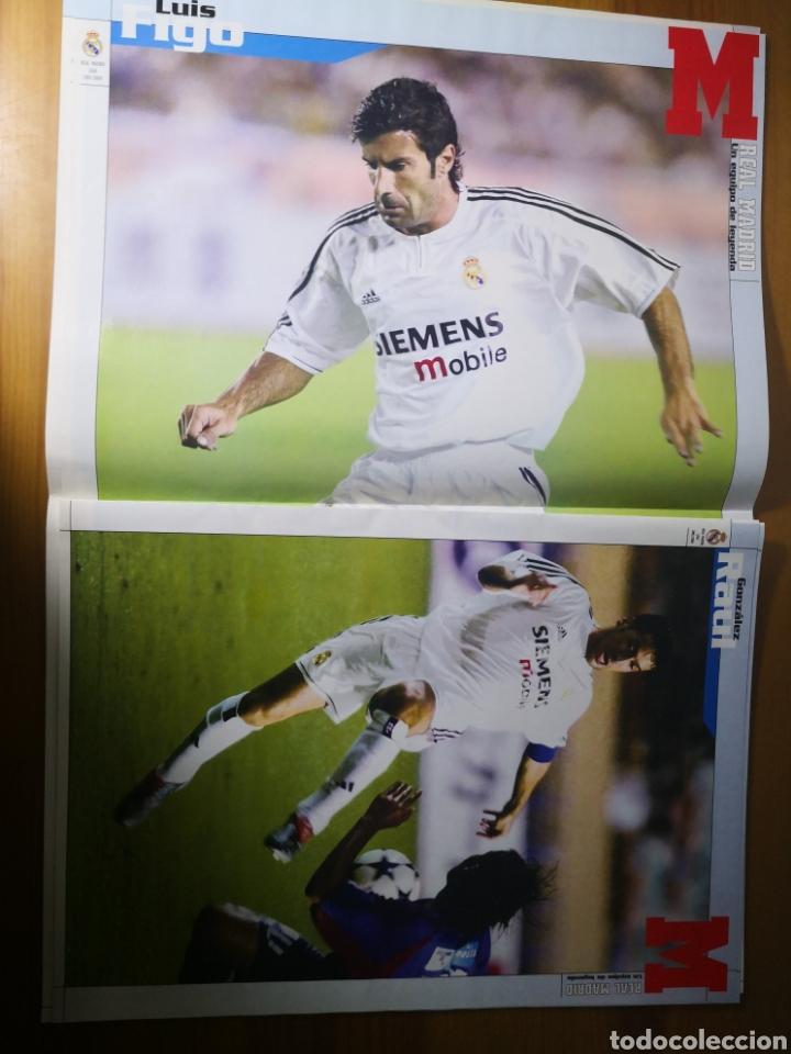Coleccionismo deportivo: SUPLEMENTO DIARIO MARCA REAL MADRID 2003/2004 UN EQUIPO DE LEYENDA - Foto 7 - 195060017