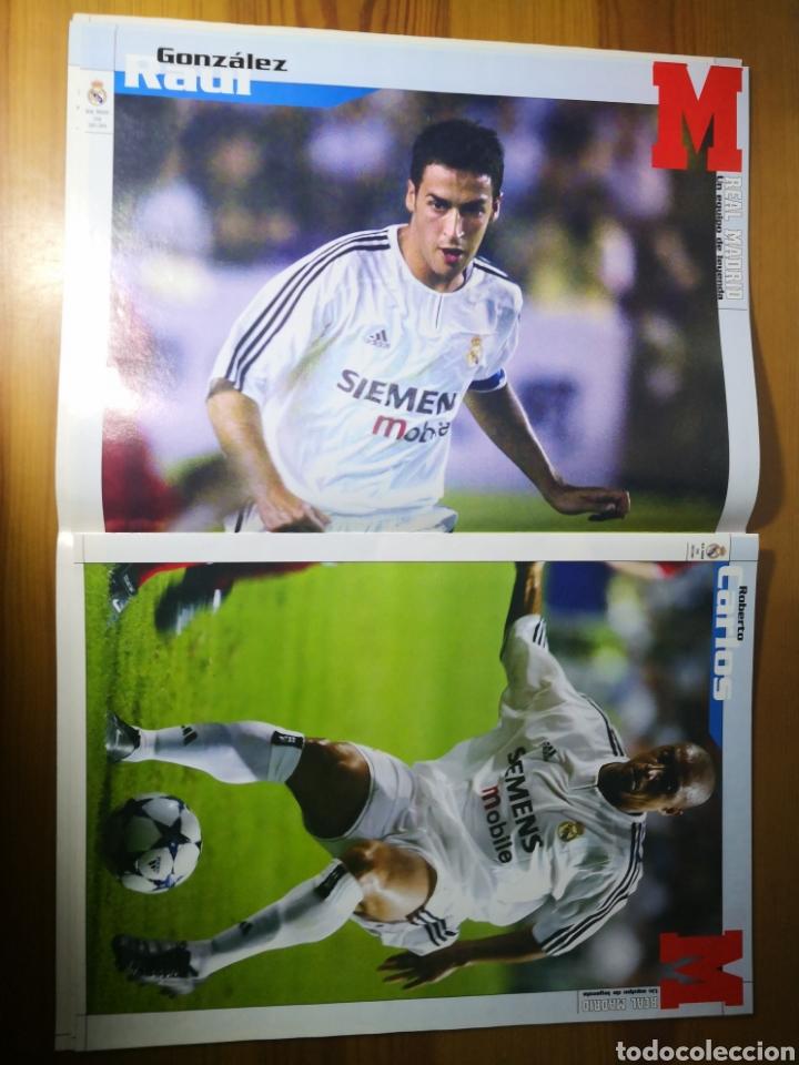 Coleccionismo deportivo: SUPLEMENTO DIARIO MARCA REAL MADRID 2003/2004 UN EQUIPO DE LEYENDA - Foto 8 - 195060017