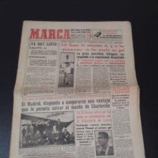 Coleccionismo deportivo: 19/02/1959. COPA EUROPA REIMS STANDARD LIEJA COPA EUROPA BALONCESTO TENIS OLMEDO.. Lote 195079228