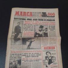 Coleccionismo deportivo: 15/02/1959. REAL MADRID V. FC BARCELONA BARACALDO INDAUCHU.. Lote 195079550