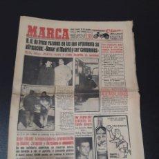 Coleccionismo deportivo: 14/02/1959. BARCELONA REAL MADRID CORDOBA ELCHE GRANADA KALMAR CICLISMO MIGUEL CHACON.. Lote 195079812