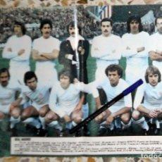 Coleccionismo deportivo: PÓSTER ANTIGUO REVISTA DON BALÓN - REAL MADRID LIGA 1978-1979 78/79 - FÚTBOL VINTAGE - SANTILLANA. Lote 195148851