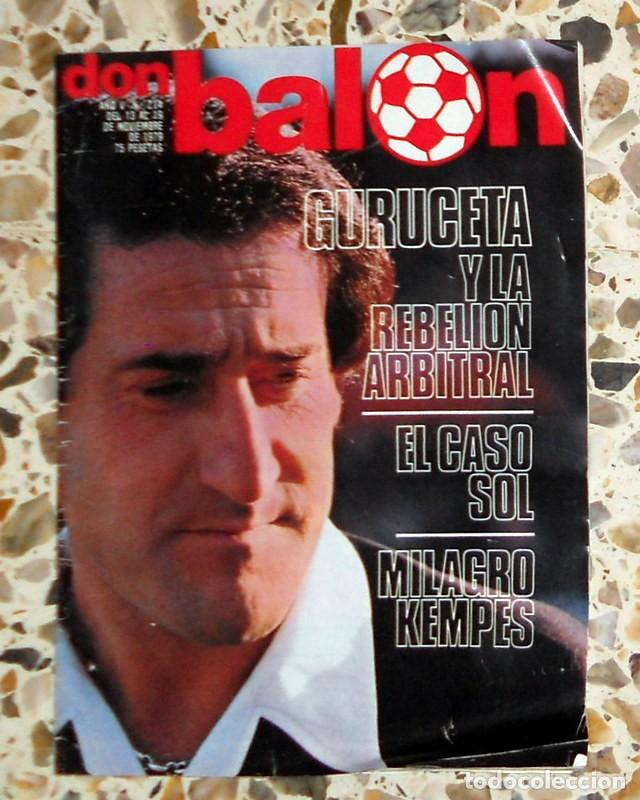 REVISTA DON BALON Nº214 NOVIEMBRE 1979 FÚTBOL VINTAGE - PÓSTER U.D.SALAMANCA 79/80 - DIARTE (Coleccionismo Deportivo - Revistas y Periódicos - Don Balón)