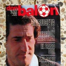 Coleccionismo deportivo: REVISTA DON BALON Nº214 NOVIEMBRE 1979 FÚTBOL VINTAGE - PÓSTER U.D.SALAMANCA 79/80 - DIARTE. Lote 195149045