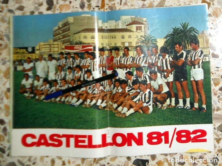 Coleccionismo deportivo: REVISTA DON BALON Nº306 Agosto 1981 FÚTBOL VINTAGE - PÓSTER CASTELLÓN 1981-1982 81/82 - - Foto 2 - 195149165