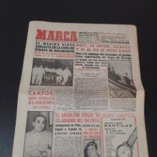 Coleccionismo deportivo: 10/01/1962. BARCELONA INTER GAINZA KUBALA HERIBERTO HERRERA BOXEO ECHEVARRIA.. Lote 195181126