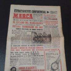 Coleccionismo deportivo: 03/01/1962. CONSTRUCCION MANZANARES AT MADRID PEDRO ESCARTIN LLAUDET FC BARCELONA.. Lote 195181485