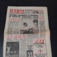 Coleccionismo deportivo: 22/06/1960. CESAR RODRIGUEZ ZARAGOZA FINAL COPA R.MADRID ATLETICO CICLISMO BAHOMONTES.. Lote 195182147
