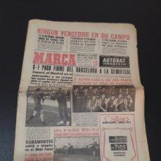 Coleccionismo deportivo: 16/04/1962. COPA R.MADRID BARCELONA BILBAO VALENCIA ESPAÑOL ZARAGOZA.. Lote 195182418