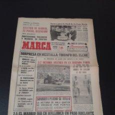 Coleccionismo deportivo: 27/12/1965. AT MADRID LIDER PONTEVEDRA MADRID RESTO JORNADA LIGA.. Lote 195182742