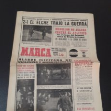 Coleccionismo deportivo: 14/11/1965. REAL MADRID ELCHE LIGA KILMARNOCK REAL MADRID COPA EUROPA.. Lote 195183050