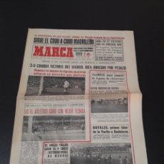 Coleccionismo deportivo: 08/02/1965. LIGA BILBAO BARCELONA MADRID VALENCIA AT MADRID UFARTE.. Lote 195183451