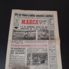 Coleccionismo deportivo: 04/01/1965. R.MADRID AT MADRID JORNADA LIGA.. Lote 195183768