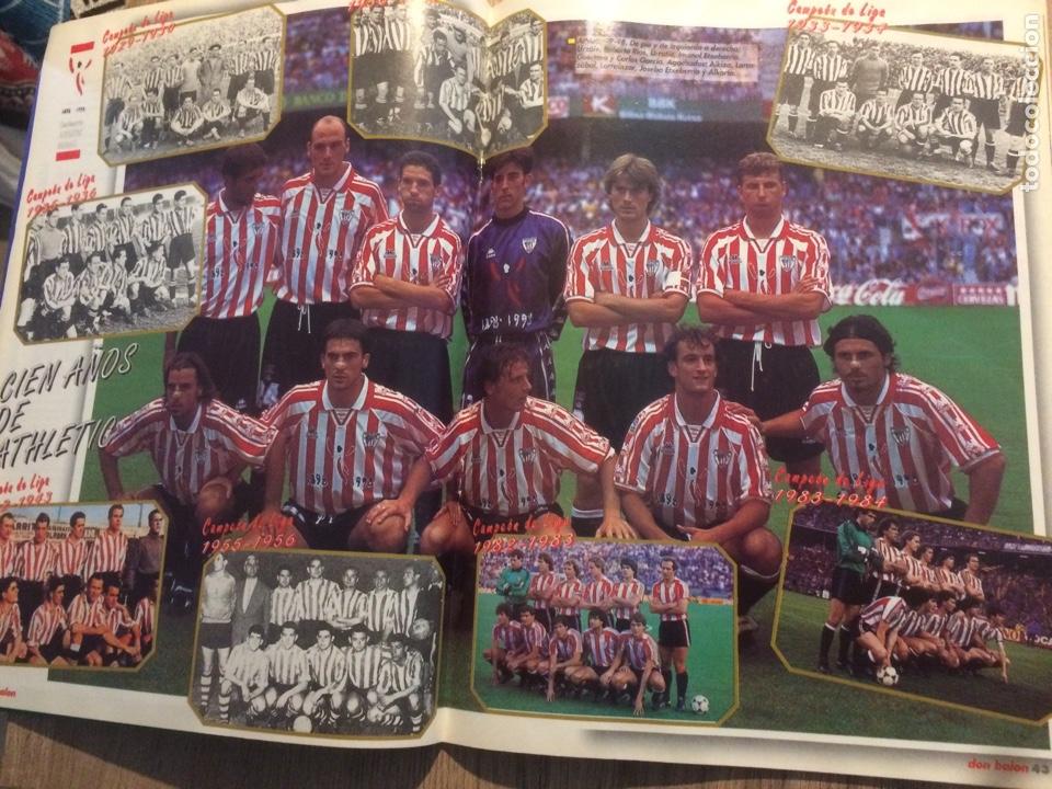 Coleccionismo deportivo: DON BALÓN, Centenario Athletic (1898 - 1998) - Foto 4 - 195185192