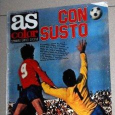 Coleccionismo deportivo: REVISTA AS COLOR Nº447 DICIEMBRE 1979 PÓSTER HÉRCULES CF LIGA 79/80 LINARES ARENAS GETXO FÚTBOL . Lote 195241602