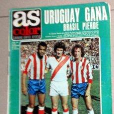 Coleccionismo deportivo: REVISTA AS COLOR Nº444 AÑO 1979 PÓSTER DIRCEU ATLÉTICO MADRID. REAL JAEN. BARACALDO. FÚTBOL VINTAGE. Lote 195241925