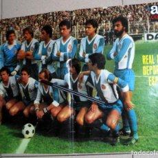 Coleccionismo deportivo: PÓSTER ANTIGUO AS COLOR - RC DEPORTIVO ESPAÑOL ESPANYOL LIGA 1979 1980 79/80 FÚTBOL VINTAGE. Lote 195242637
