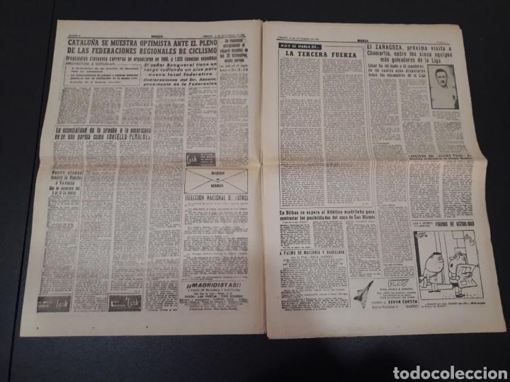 Coleccionismo deportivo: 11/11/1960. ZARAGOZA LUGO SEVILLA JONSSON FONTAINE VALENCIA CF BALMANYA. - Foto 2 - 195259278