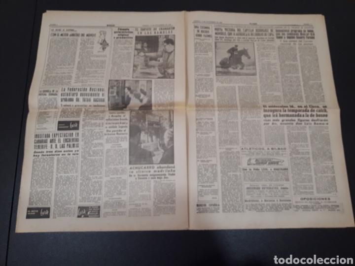 Coleccionismo deportivo: 11/11/1960. ZARAGOZA LUGO SEVILLA JONSSON FONTAINE VALENCIA CF BALMANYA. - Foto 4 - 195259278