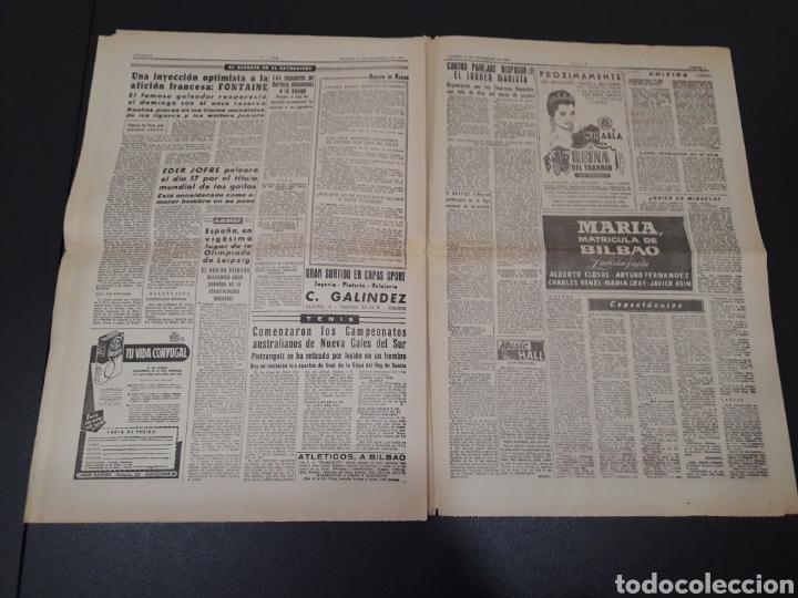 Coleccionismo deportivo: 11/11/1960. ZARAGOZA LUGO SEVILLA JONSSON FONTAINE VALENCIA CF BALMANYA. - Foto 5 - 195259278