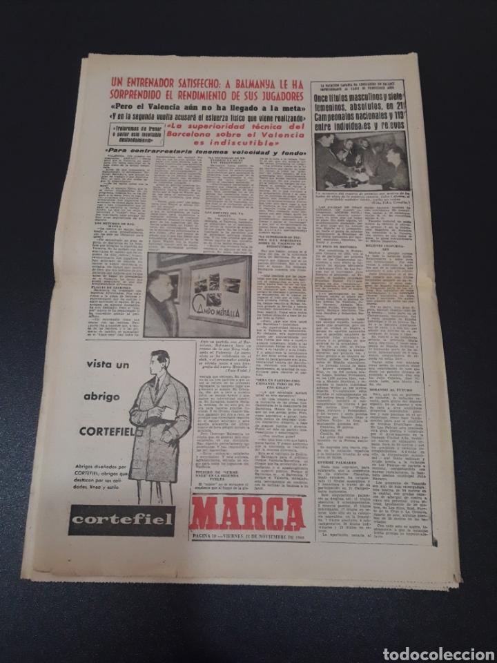 Coleccionismo deportivo: 11/11/1960. ZARAGOZA LUGO SEVILLA JONSSON FONTAINE VALENCIA CF BALMANYA. - Foto 6 - 195259278