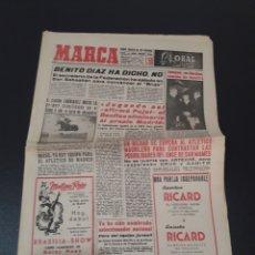 Coleccionismo deportivo: 11/11/1960. ZARAGOZA LUGO SEVILLA JONSSON FONTAINE VALENCIA CF BALMANYA.. Lote 195259278