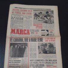 Coleccionismo deportivo: 12/02/1967. GLASGOW RANGERS ATH BILBAO ZARAGOZA R.MADRID CORDOBA AT MADRID MARCEL DOMINGO.. Lote 195259562