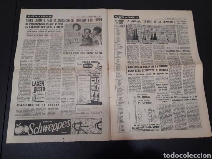 Coleccionismo deportivo: 09/07/1967. ORANTES GANADOR WIMBLEDON CICLISMO JIMENEZ BOXEO UZCUDUN. - Foto 2 - 195259860