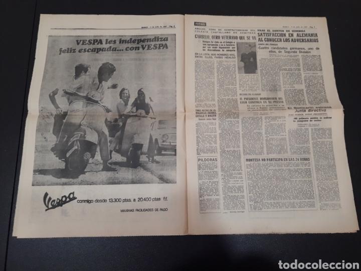 Coleccionismo deportivo: 09/07/1967. ORANTES GANADOR WIMBLEDON CICLISMO JIMENEZ BOXEO UZCUDUN. - Foto 4 - 195259860