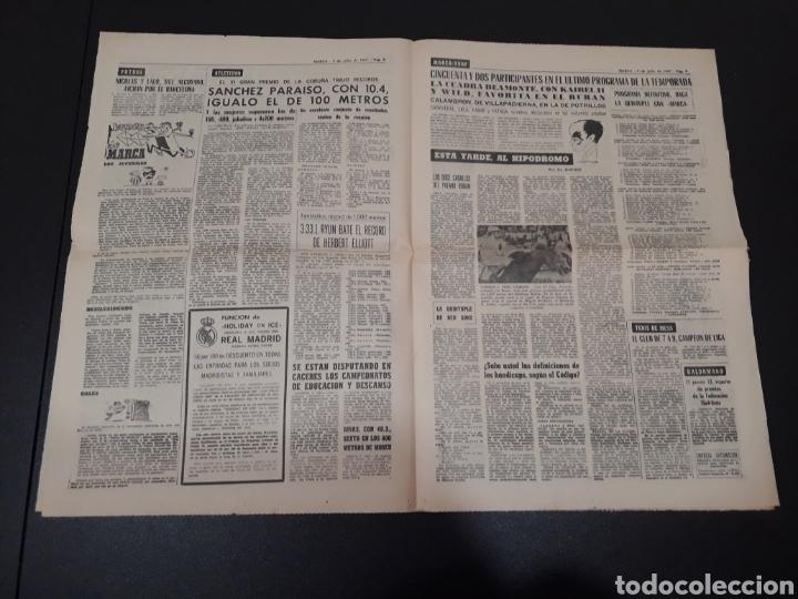 Coleccionismo deportivo: 09/07/1967. ORANTES GANADOR WIMBLEDON CICLISMO JIMENEZ BOXEO UZCUDUN. - Foto 5 - 195259860