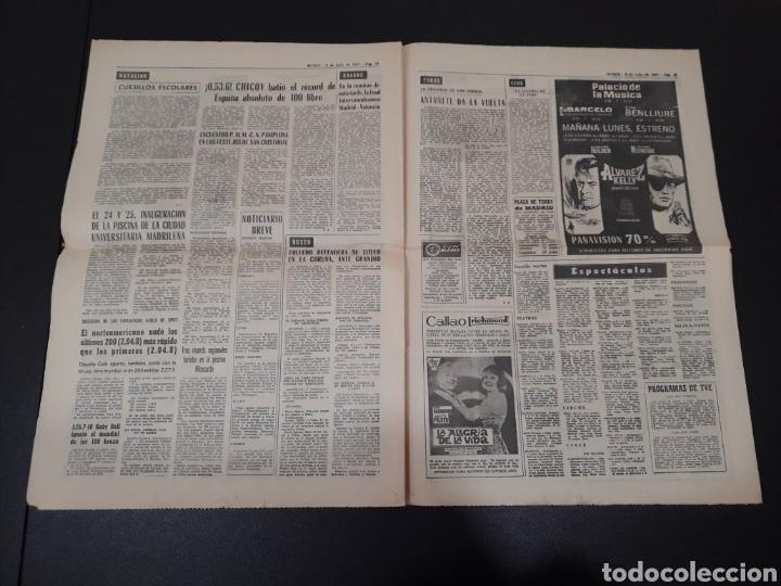 Coleccionismo deportivo: 09/07/1967. ORANTES GANADOR WIMBLEDON CICLISMO JIMENEZ BOXEO UZCUDUN. - Foto 7 - 195259860