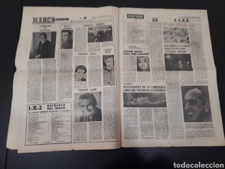 Coleccionismo deportivo: 09/07/1967. ORANTES GANADOR WIMBLEDON CICLISMO JIMENEZ BOXEO UZCUDUN. - Foto 8 - 195259860