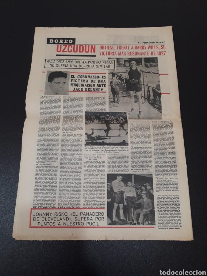 Coleccionismo deportivo: 09/07/1967. ORANTES GANADOR WIMBLEDON CICLISMO JIMENEZ BOXEO UZCUDUN. - Foto 9 - 195259860